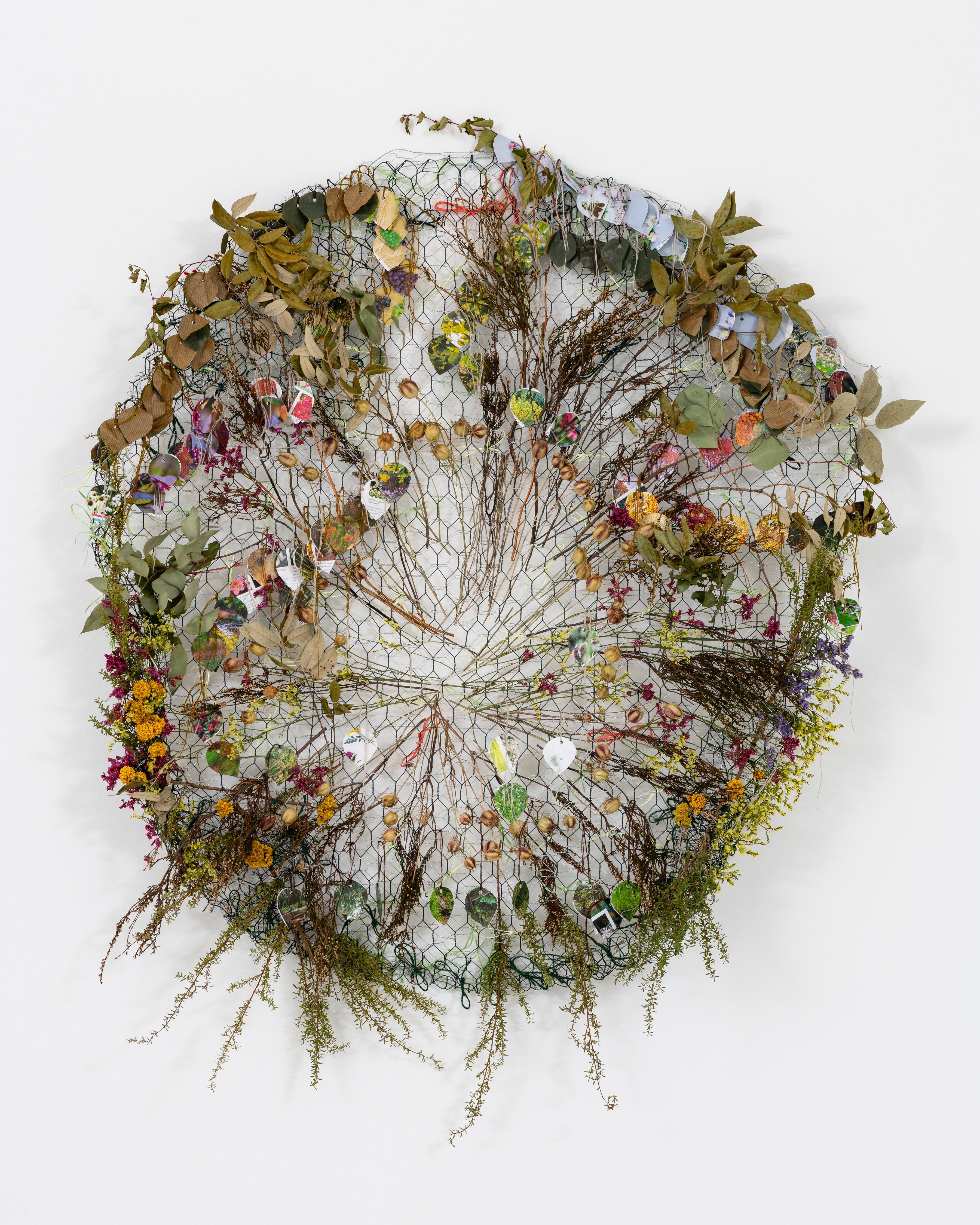 Alice McCabe Flowers _ Flipside Garden at JGM Gallery II small copy